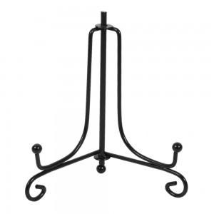Tallerken-/platteholder metal sort  (Vælg mellem Str. 1-7)