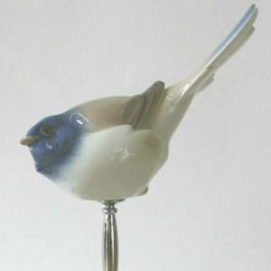 Porcelæns fugl til toppen, optimist